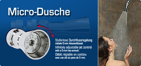 Micro-Dusche